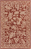 Surya SMI-2163 Red Hand Tufted Area Rug by Smithsonian