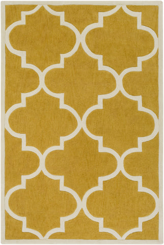 Artistic Weavers Santorini Nora Gold/Ivory Area Rug main image