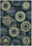 Rizzy Sorrento SO4269 Gray/Charcoal Area Rug