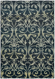 Rizzy Sorrento SO4322 Gray/Charcoal Area Rug