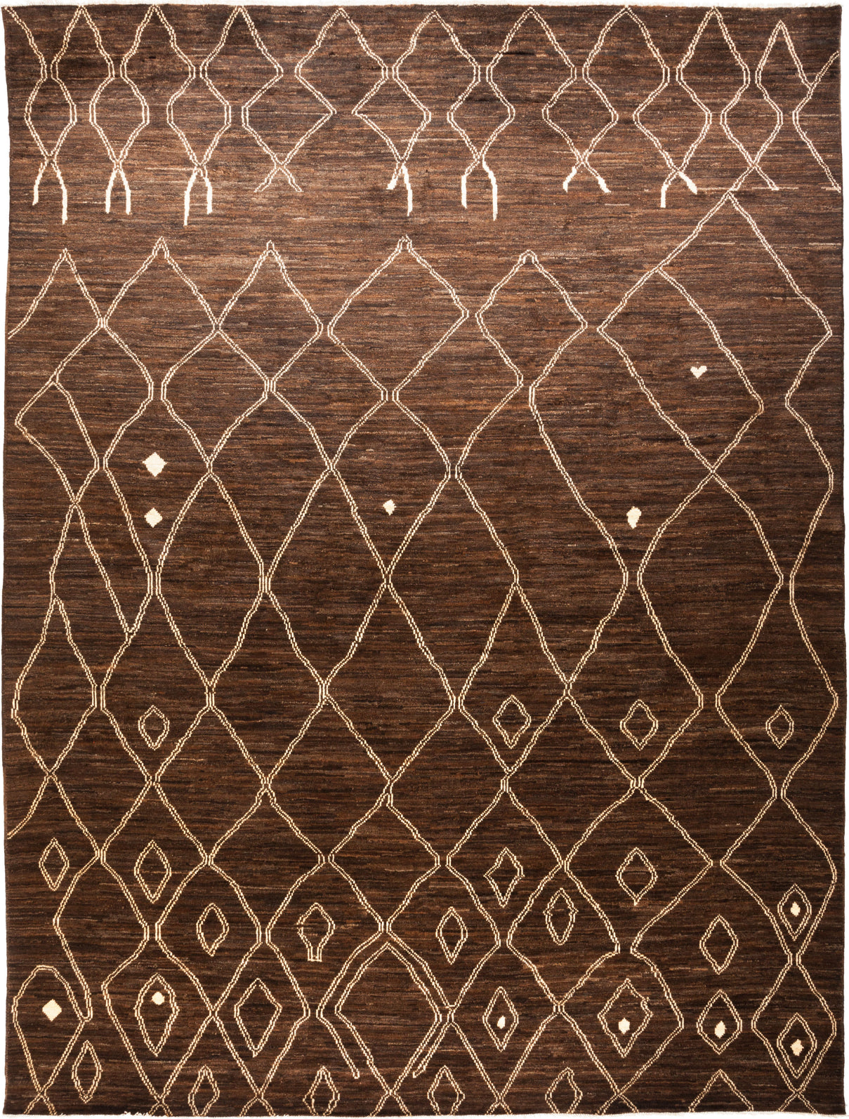 Solo Rugs Moroccan Zain M1891-8 Umber Area Rug main image