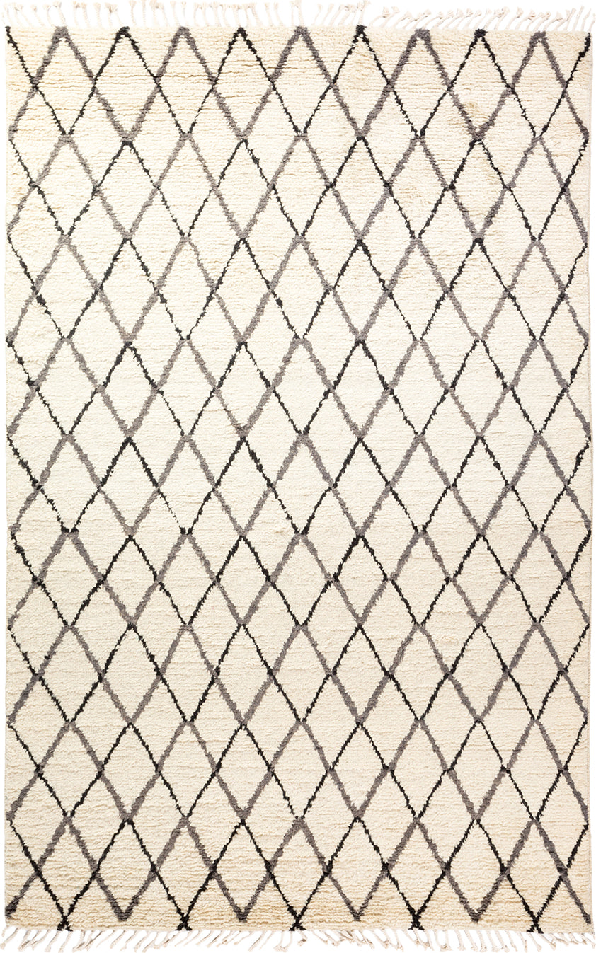 Solo Rugs Moroccan M1918-746 Gray Area Rug main image