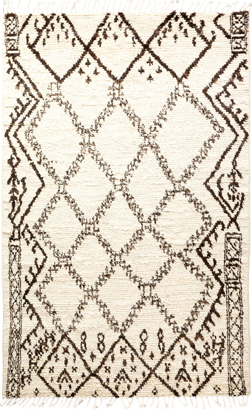 Solo Rugs Moroccan M1918-748 Walnut Area Rug main image
