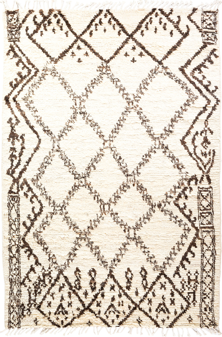 Solo Rugs Moroccan M1918-749 Walnut Area Rug main image