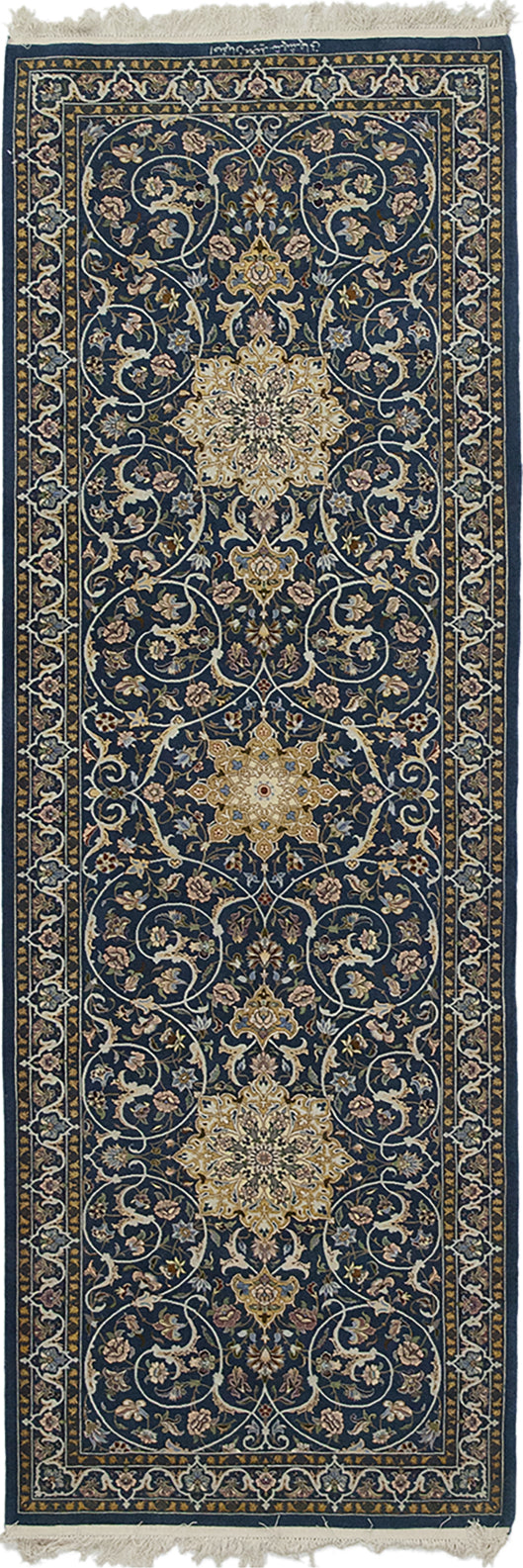 Solo Rugs Isfahan Sylvia M5990-7806 Prussian Area Rug main image