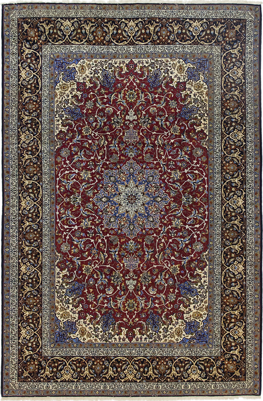 Solo Rugs Isfahan Phebe M6030-17878 Raspberry Area Rug main image