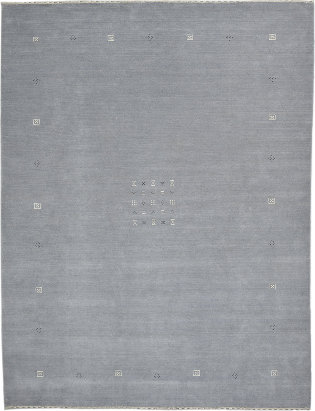 Solo Rugs Gabbeh M8049-12 Light Gray Area Rug main image