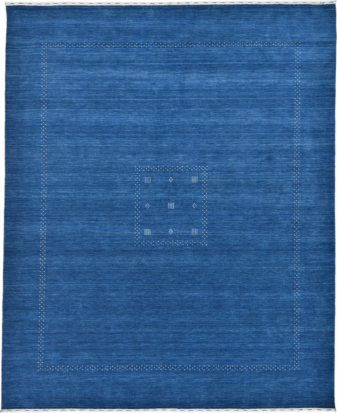 Solo Rugs Gabbeh M8049-17 Blue Area Rug main image