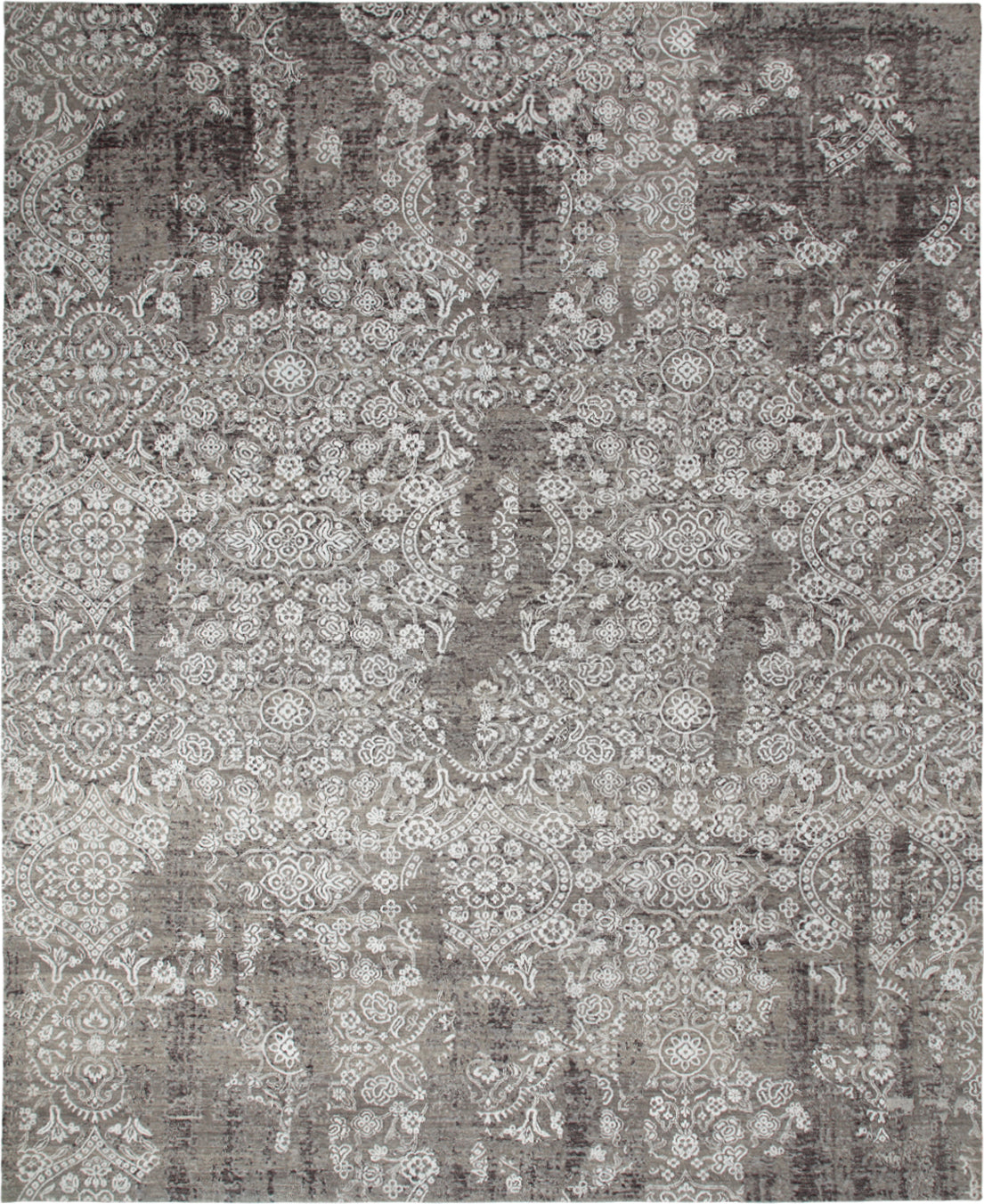 Solo Rugs Jankat M8051-12 Gray Area Rug main image