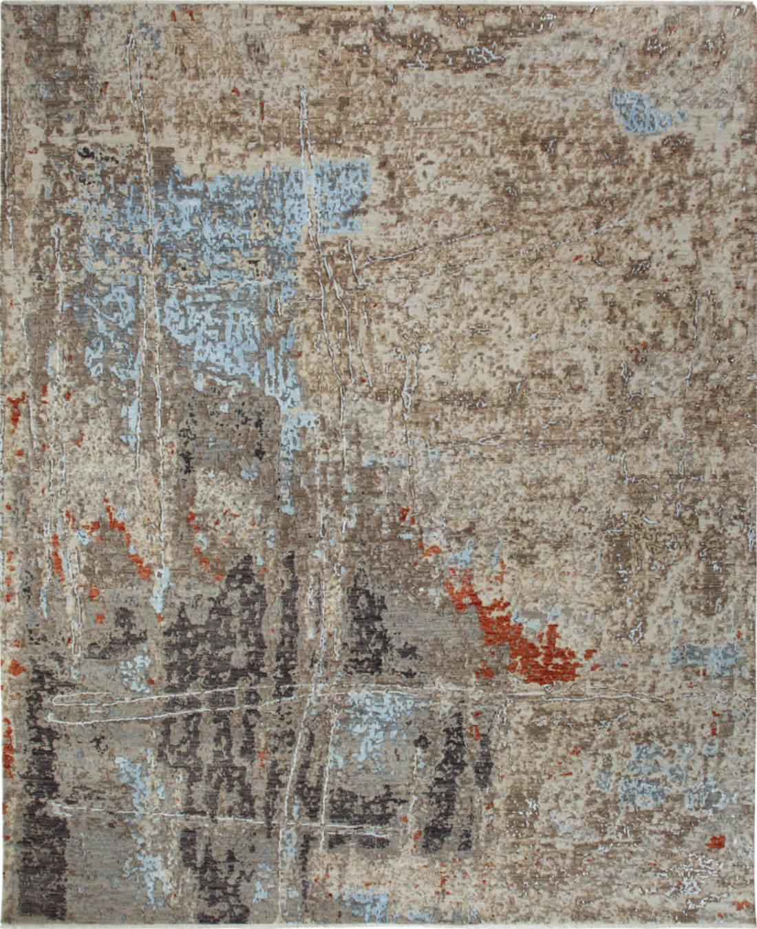 Solo Rugs Galaxy M8051-52 Beige Area Rug main image