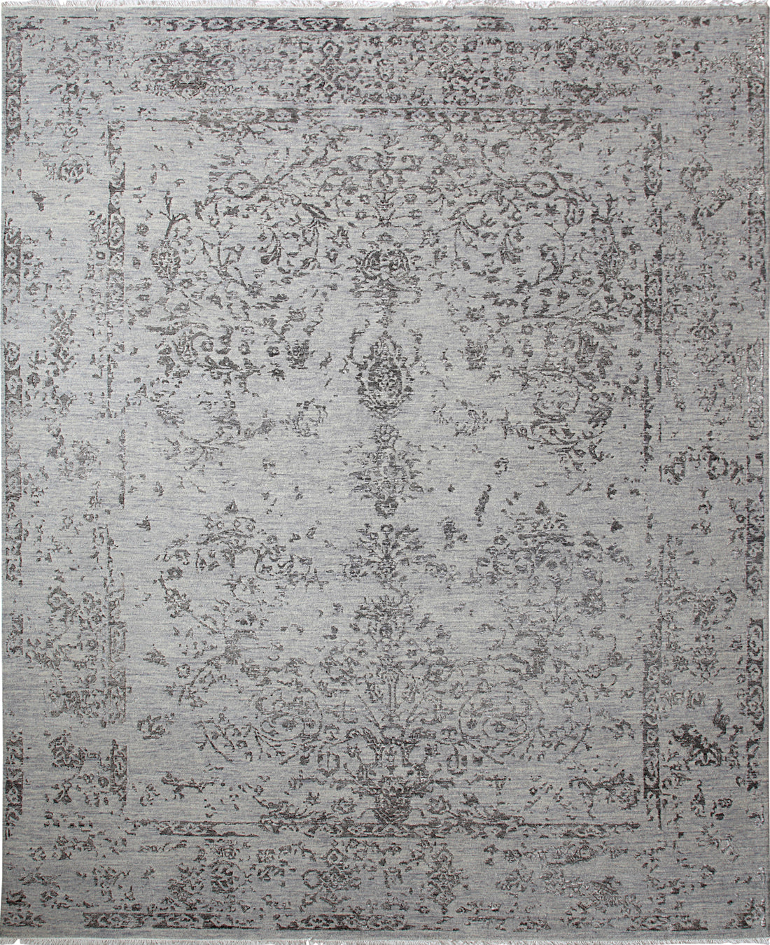 Solo Rugs Erase Octavia M8062-100 Light Blue Area Rug main image