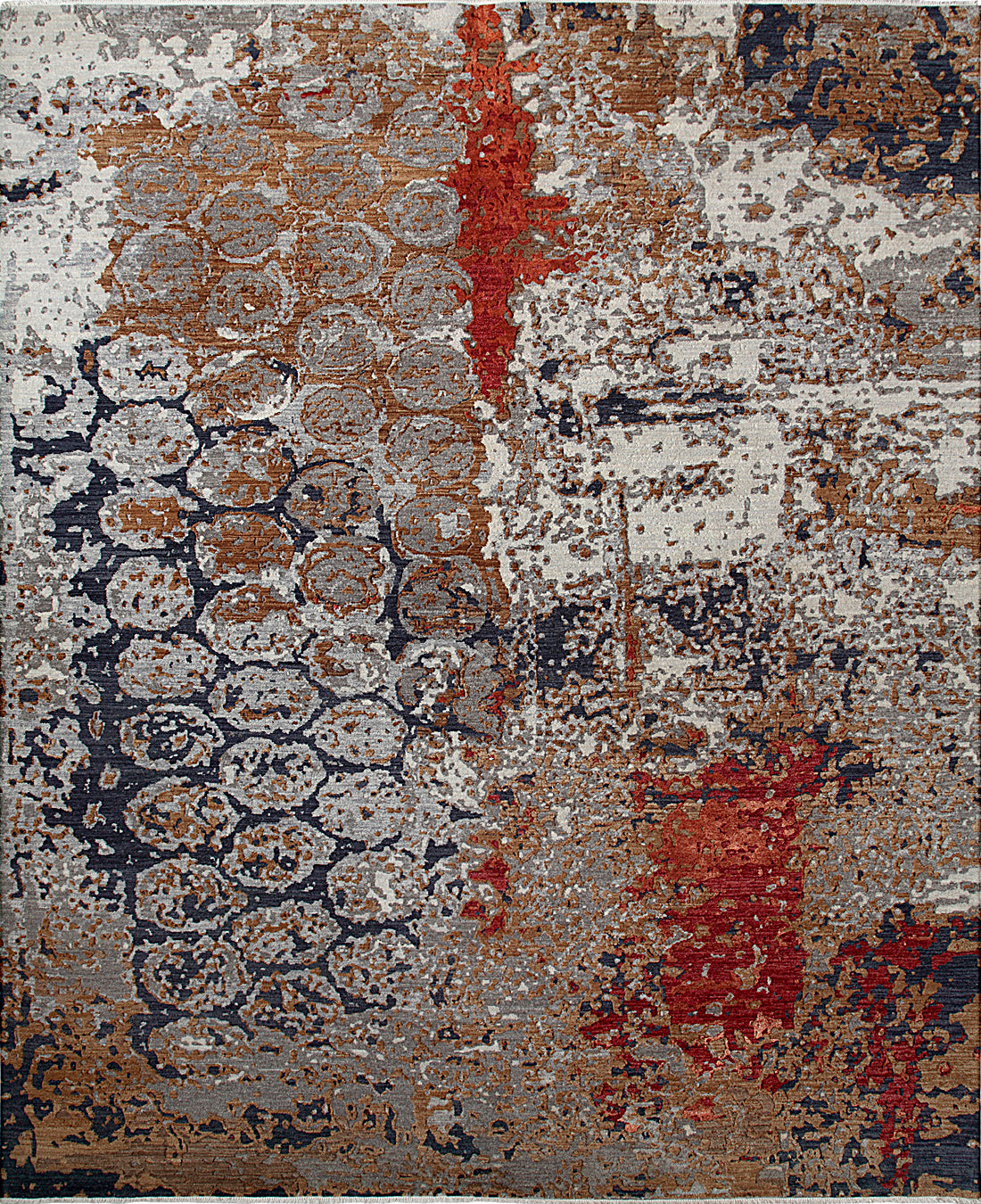 Solo Rugs Galaxy M8062-76 Gray Area Rug main image