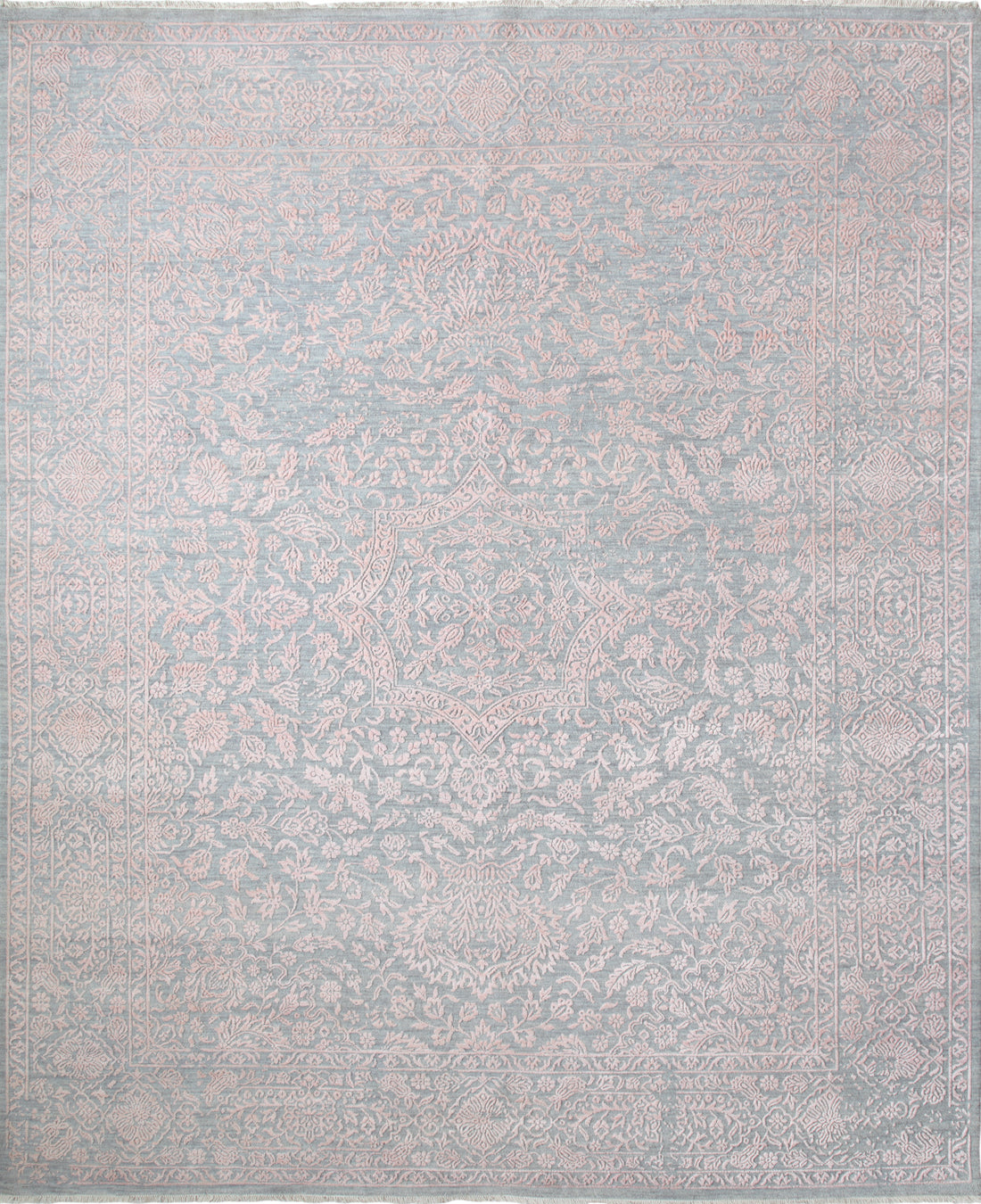 Solo Rugs Erase M8062-79 Gray Area Rug main image