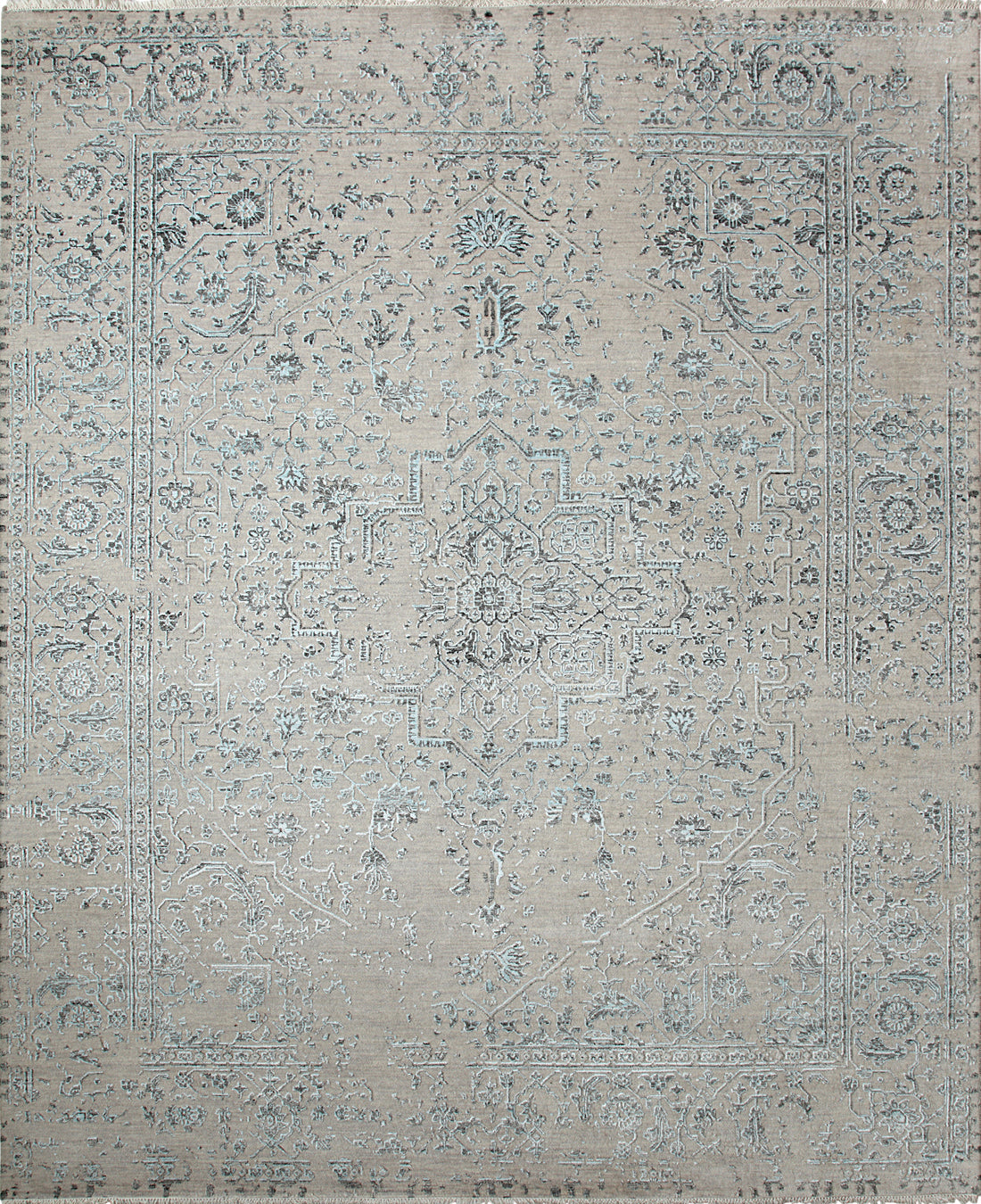 Solo Rugs Erase M8062-88 Beige Area Rug main image