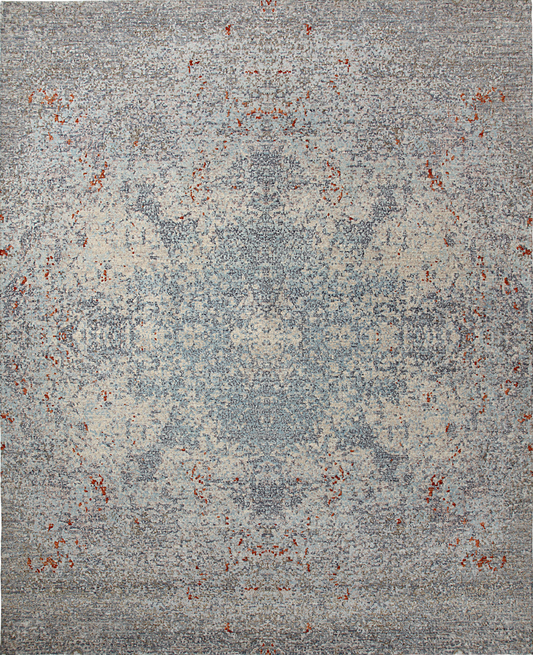 Solo Rugs Galaxy M8062-93 Gray Area Rug main image