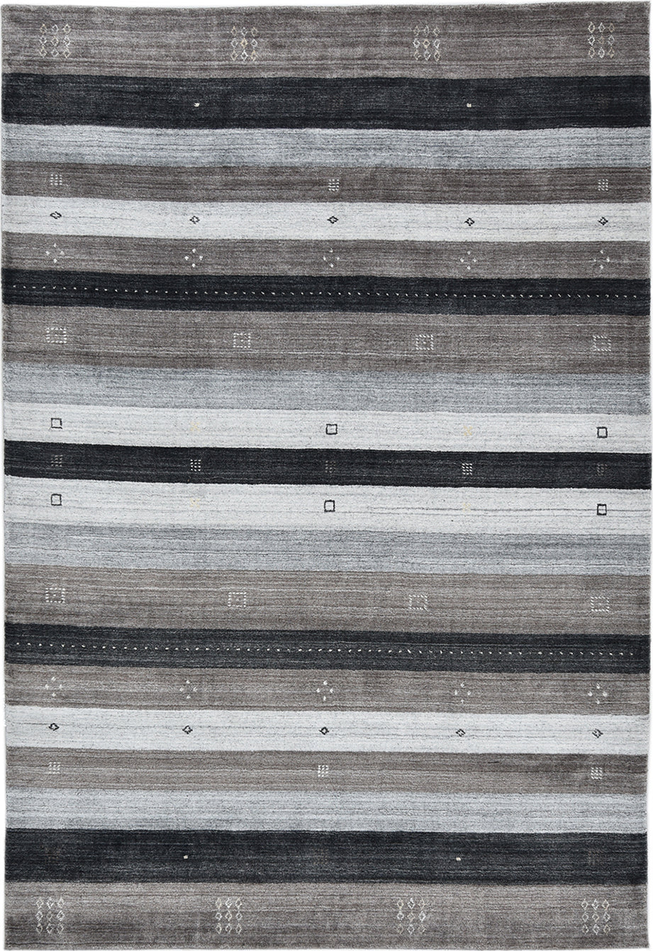 Solo Rugs Gabbeh M8081-152 Brown Area Rug main image