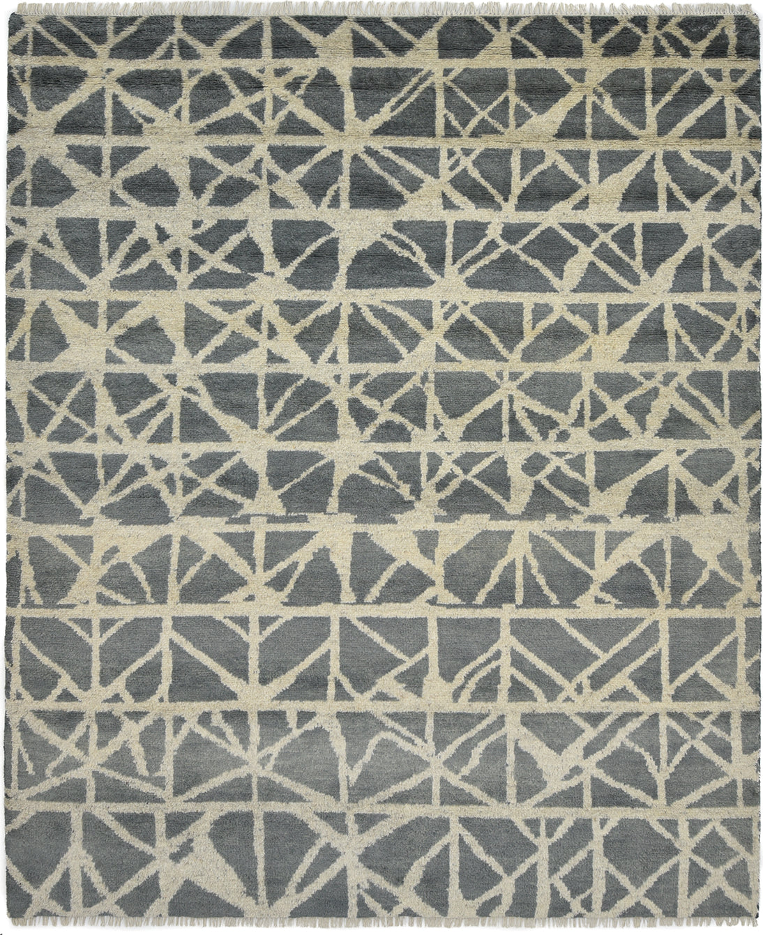 Solo Rugs Jankat M8081-183 Gray Area Rug main image