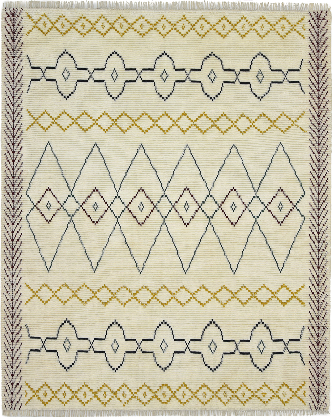 Solo Rugs Moroccan M8081-238 Ivory Area Rug main image
