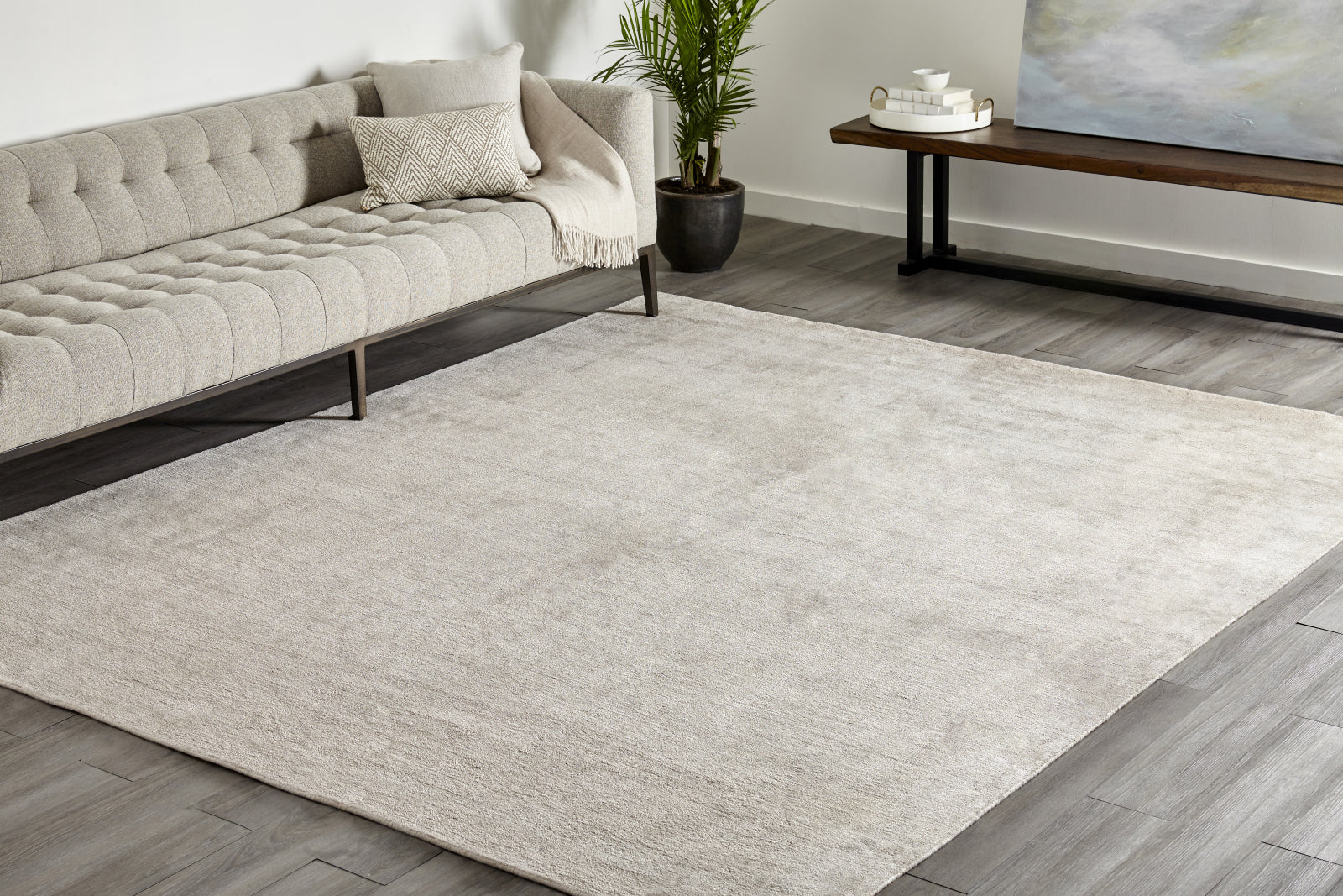 Solo Rugs Lodhi S1106 Champagne Area Rug main image
