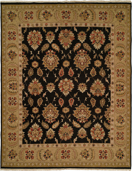 Kalaty Sierra Sp 243 Black Gold Area Rug Incredible Rugs And Decor