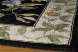 Momeni Spencer SP-16 Black Area Rug Closeup