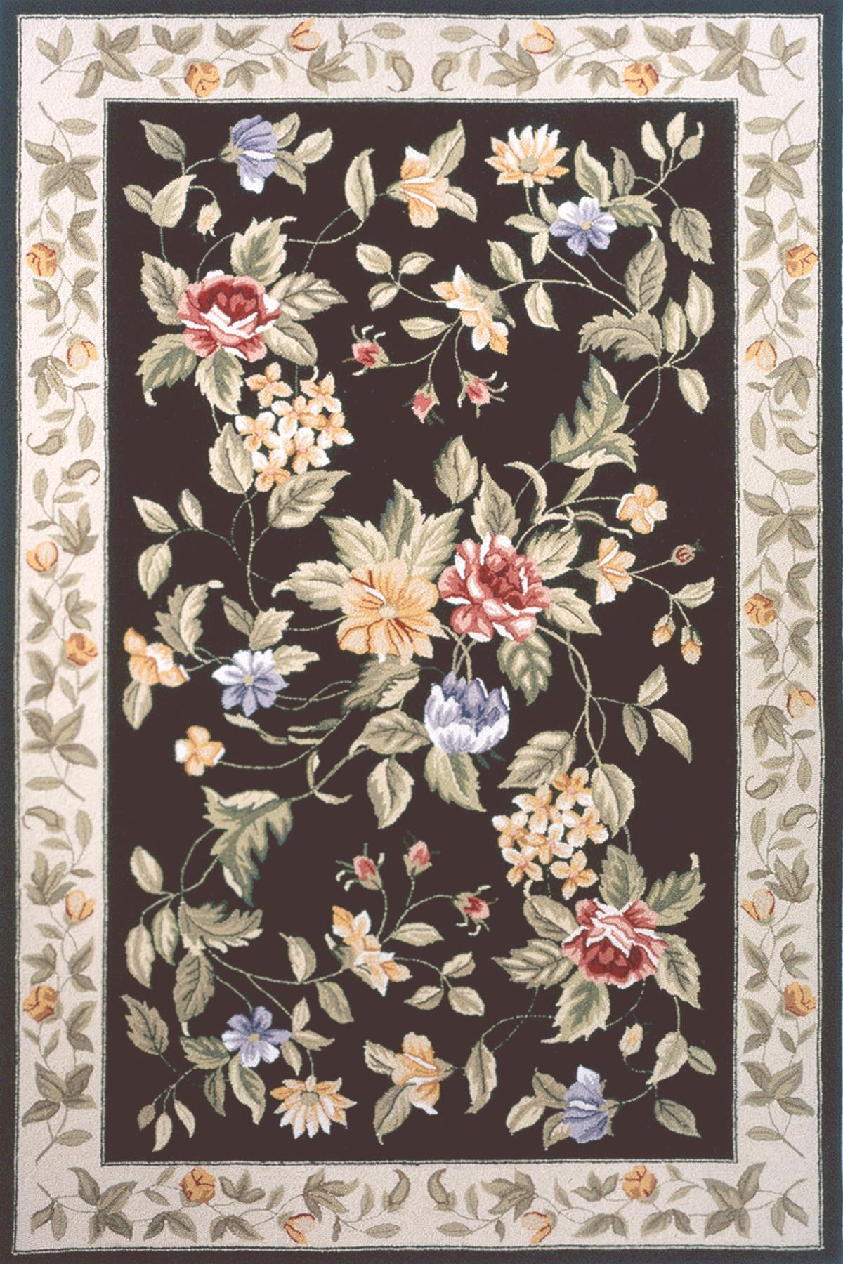 Momeni Spencer SP-16 Black Area Rug main image