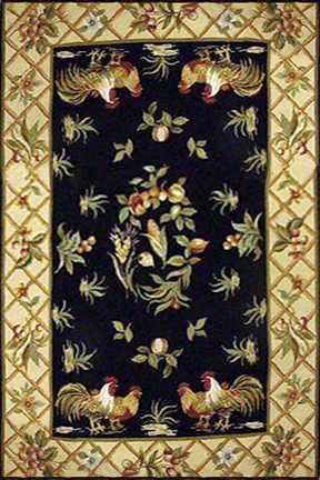Momeni Spencer SPB-6 Black Area Rug main image