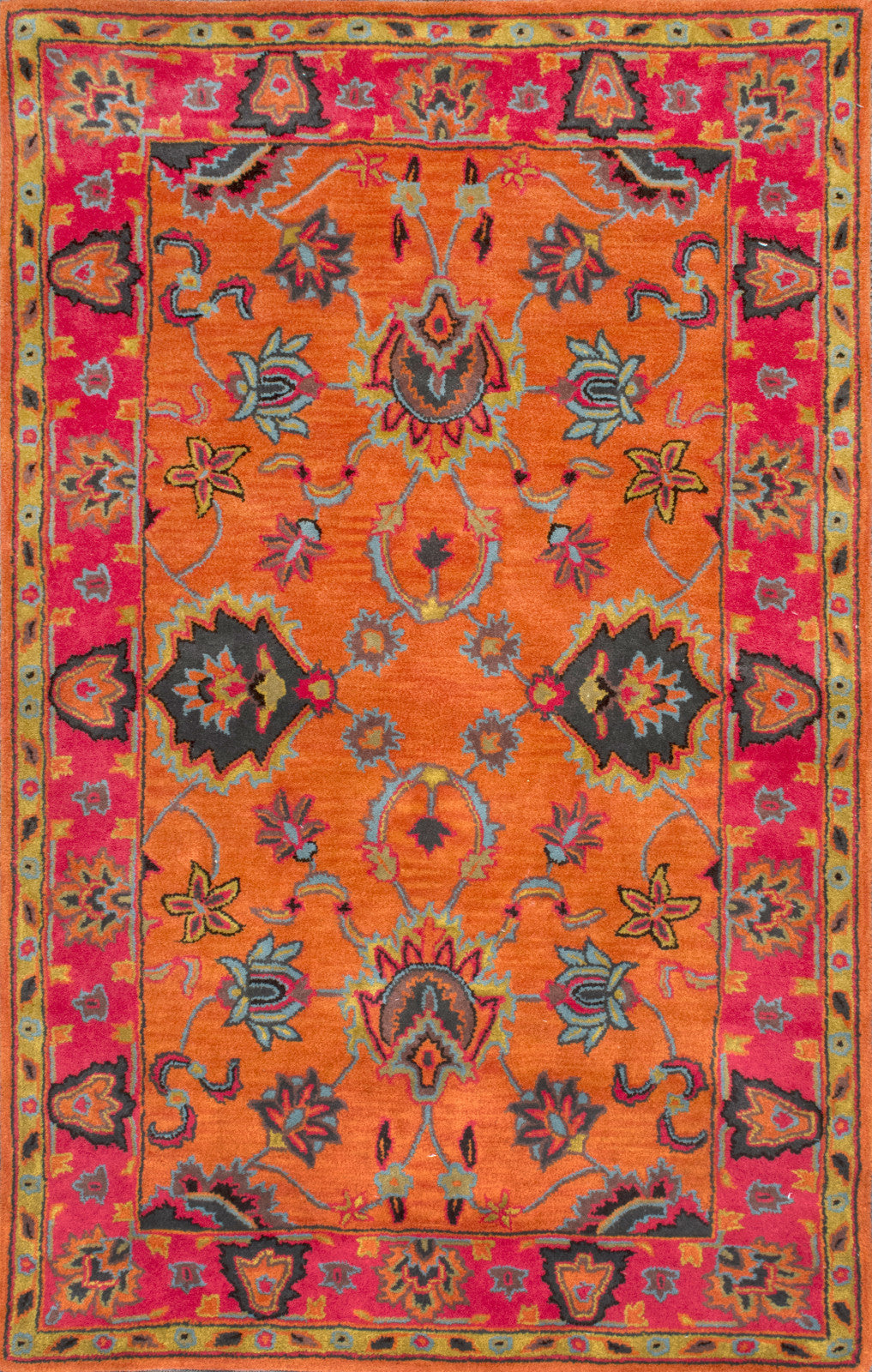 nuLOOM Hand Tufted Montesque SPRE21A Orange Area Rug main image