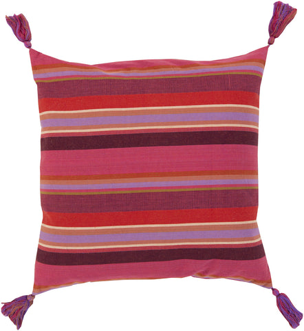 Surya Stadda Stripe and Tassel SS-002 Pillow main image