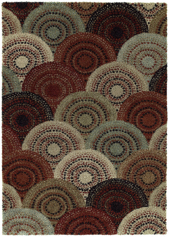 Mayberry Shaggy Supreme SS8011-Lorne Multi Area Rug main image