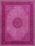 Artistic Weavers Saturn Chase Hot Pink/Carnation Pink Area Rug main image