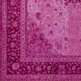 Artistic Weavers Saturn Chase Hot Pink/Carnation Pink Area Rug Swatch