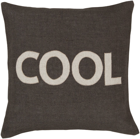 Surya Stencil Charmingly 'Cool' ST-005 Pillow main image