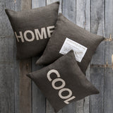 Surya Stencil Charmingly 'Cool' ST-005 Pillow
