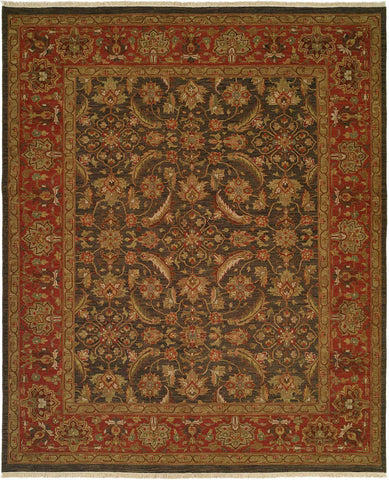 Kalaty Soumak SU-204 Blue/Rose Area Rug main image