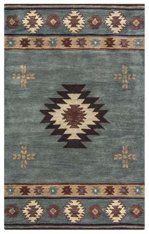 Rizzy Southwest SU2008 Green Area Rug