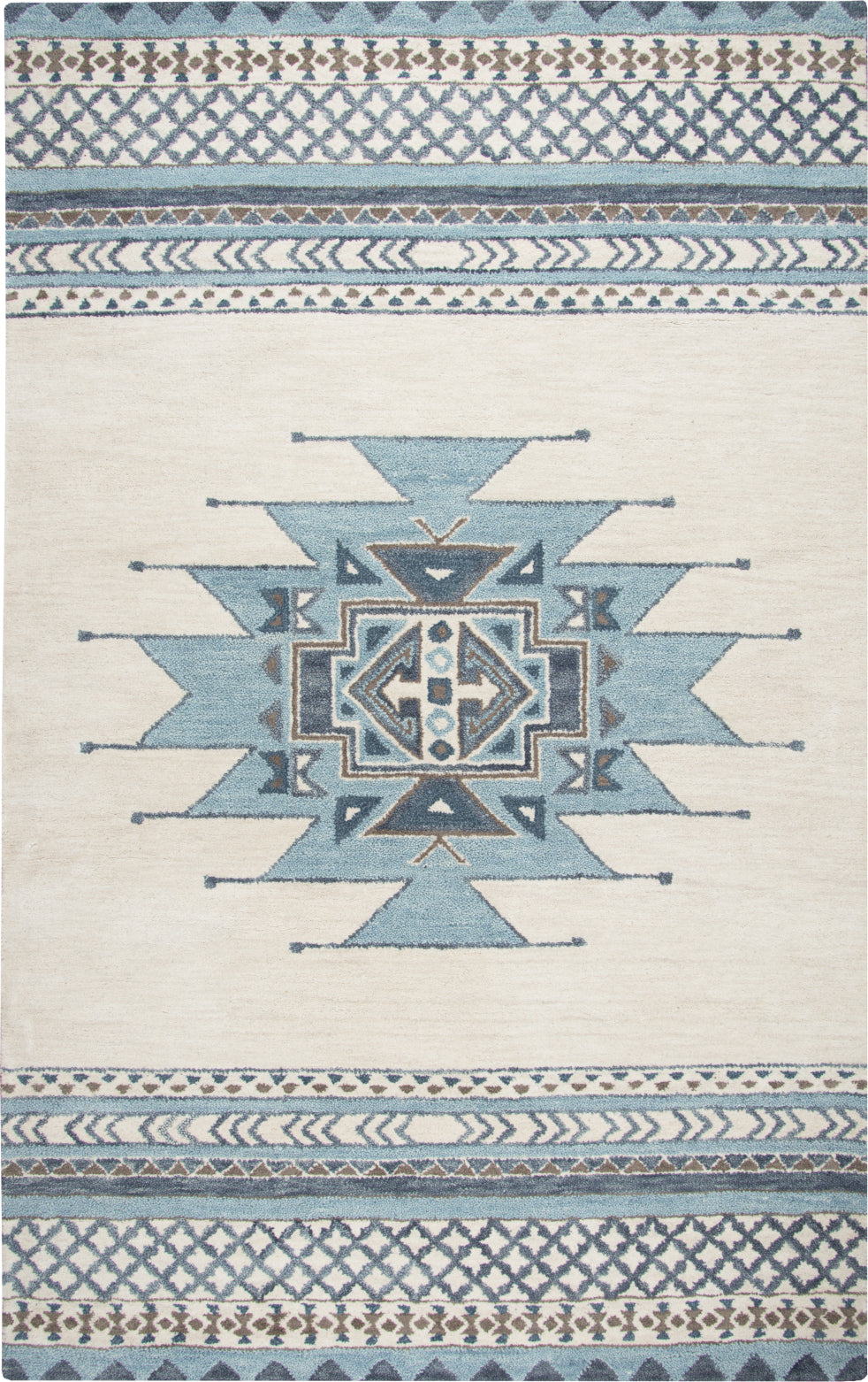 Rizzy Southwest SU567A Blue Area Rug main image