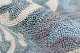 Momeni Summit SUM13 Grey Area Rug Detail Shot