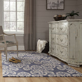 Momeni Summit SUM18 Navy Area Rug Runner