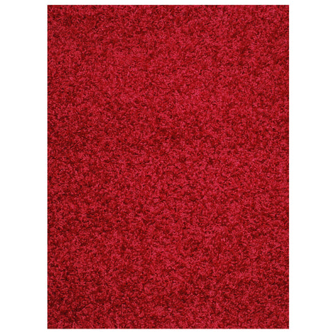 Mayberry Super Shag SUPS1380-Cloud Claret Area Rug