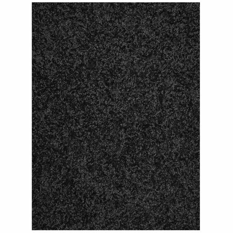 Mayberry Super Shag SUPS1383-Cloud Black Area Rug