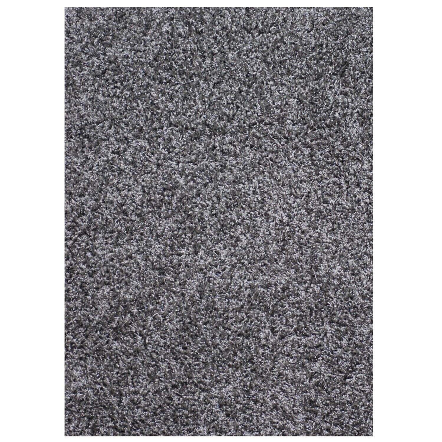 Mayberry Super Shag SUPS1384-Cloud Smoke Gray Area Rug