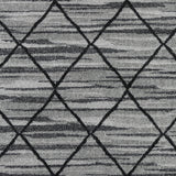 Artistic Weavers Sutton Madeline Onyx Black/Charcoal Area Rug Swatch
