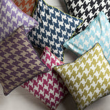 Surya Houndstooth Hues of SY-035 Pillow