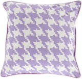 Surya Houndstooth Hues of SY-036 Pillow 22 X 22 X 5 Poly filled