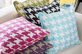 Surya Houndstooth Hues of SY-038 Pillow