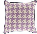 Surya Houndstooth Hues of SY-039 Pillow 22 X 22 X 5 Down filled
