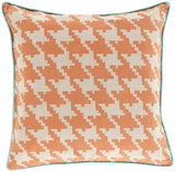Surya Houndstooth Hues of SY-040 Pillow 22 X 22 X 5 Down filled