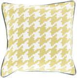 Surya Houndstooth Hues of SY-041 Pillow 22 X 22 X 5 Down filled