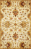 KAS Syriana 6012 Champagne Agra Hand Tufted Area Rug